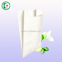 Competitive price white kraft food package paper bag for bread