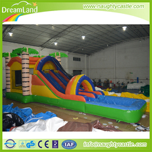 High quality inflatable Balloons Bounce House Water Slide with pool