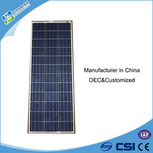 Poly Solar Panel 100 Watt 12V Solar Panel 100W Sun Power Solar Panel