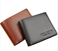 Popular gifts men's short wallet casual wallet thin