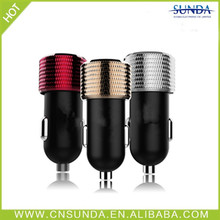 2014 Sunda New 2.1A/3.1a cell phone car battery charger