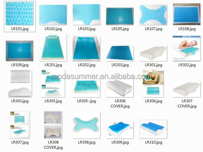 sommer k hl gel matratze f r bett latexkissen memory foam kissen k hlendes gel matte pad. Black Bedroom Furniture Sets. Home Design Ideas