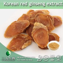 3W Factory Sale korean red ginseng extract , korean red ginseng extract liquid Ginsenosides