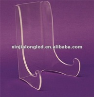 Acrylic Plastic double bend Easel Display Stand Acrylic Double Bend Easels