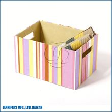 Multipurpose decorative closet nonwoven storage boxes
