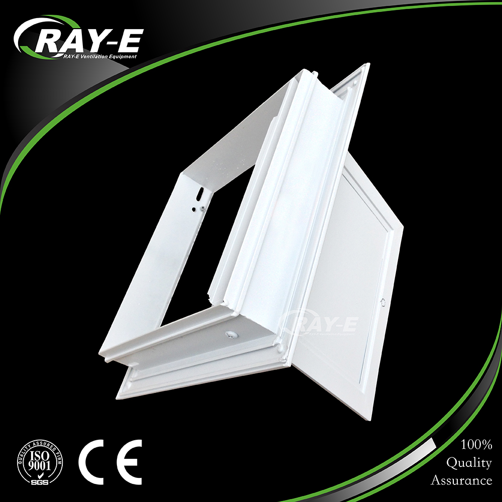 ceiling press lock type aluminum inspection trap access door with gypsum board
