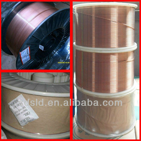ISO certificates free sample OEM offered welding material AWS ER70S 6 Copper Coated Welding Wire