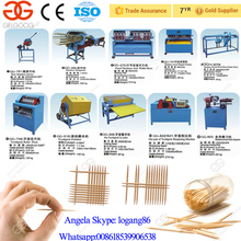Toothpick Processing Equipment Bamboo Toothpick Making Machine for Sale