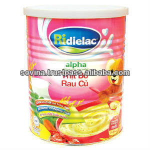 Cereal Powder RiDielac alpha beef with vegetable milk pap 350g tin