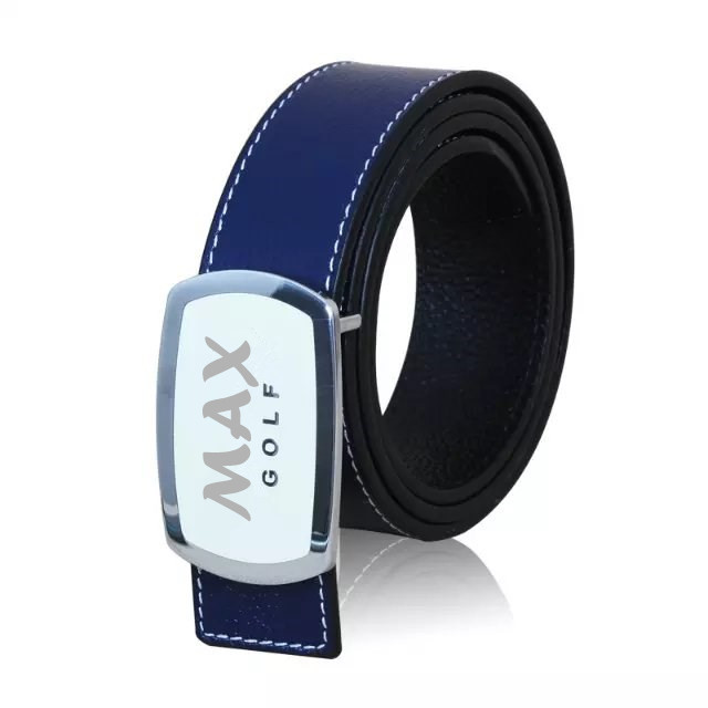 Top quality custom alloy buckle leather belt for men