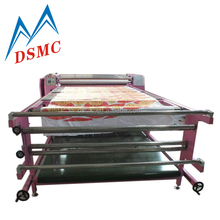 large format fabric sublimation printer roller heat transfer textile printing machine