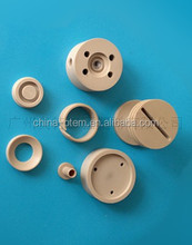 Supply high temperature resistant performance of PEEK clamping parts, precision machined part PEEK, PEEK industrial accessories