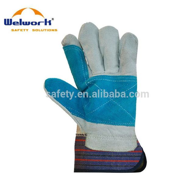 New Arrival Colorful Customized goat leather working gloves