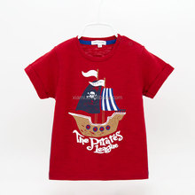 new design organic fabric handfeel cool sea rover pattern t-shirt printing machine prices
