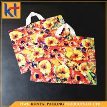 Customized design wholesale factory alibaba supplier garment plastic bag.garment shopping bag