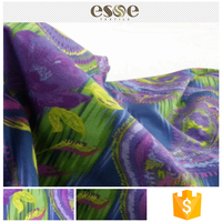 Custom bulk sale cheap clothing printed cotton fabric garment