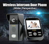 Kivos new product KDB303 wireless video door phone audio intercom door phone door bell phone intercom