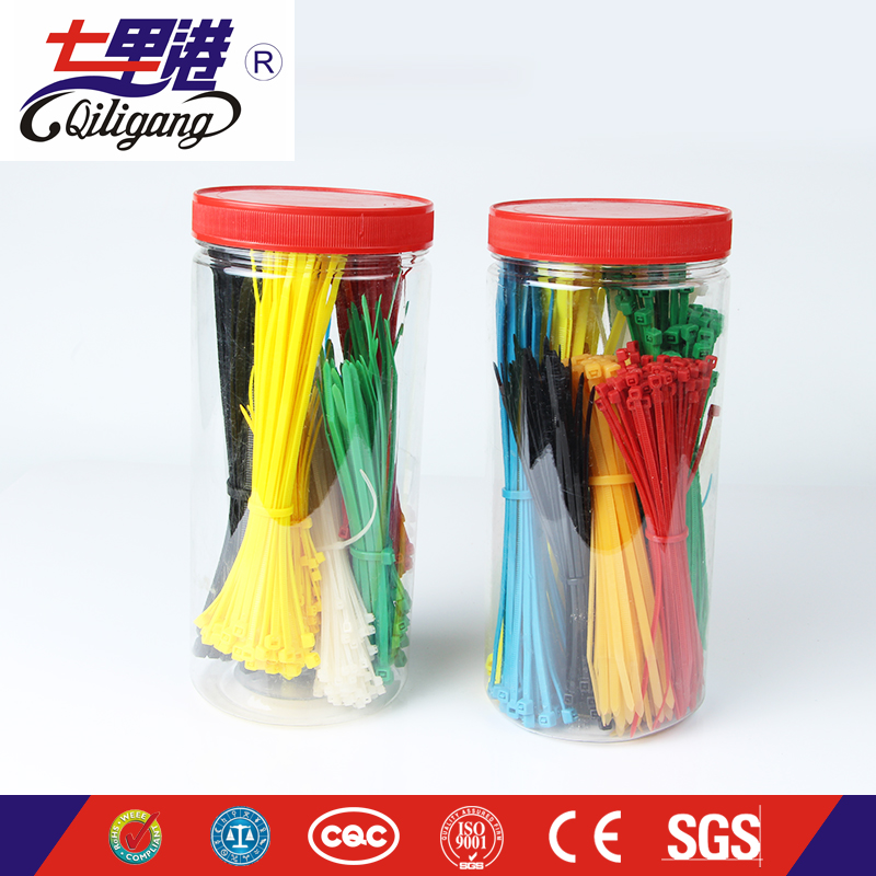 hot sale & high quality twist lock PA66 nylon wire tie