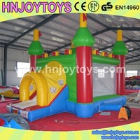 Inflatable Bouncer with Air Fan, Exercise Game Inflatable