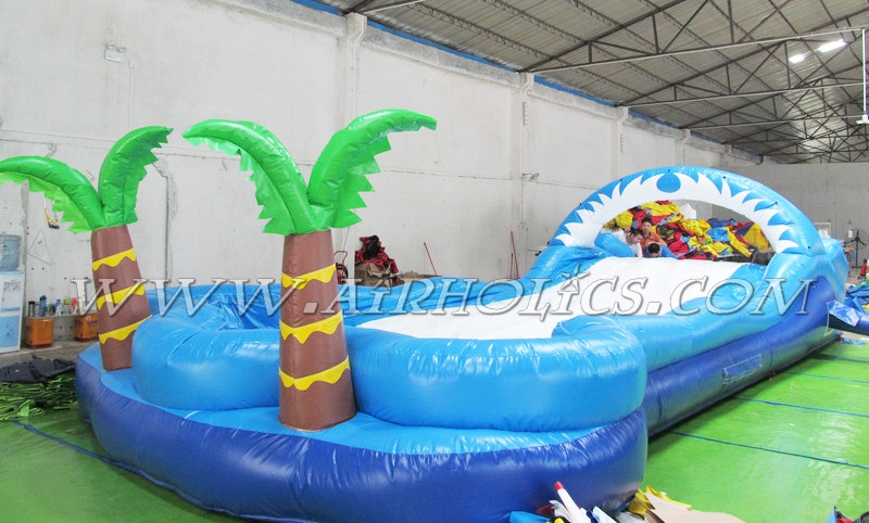 Top quality cheap inflatable water slides for sale
