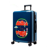 Promotional Cheap Blue Travel Aluminum Case