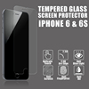 3D Curved edge mobile phone screen protective film for apple iphone 6 glass screen protector / tempered glass