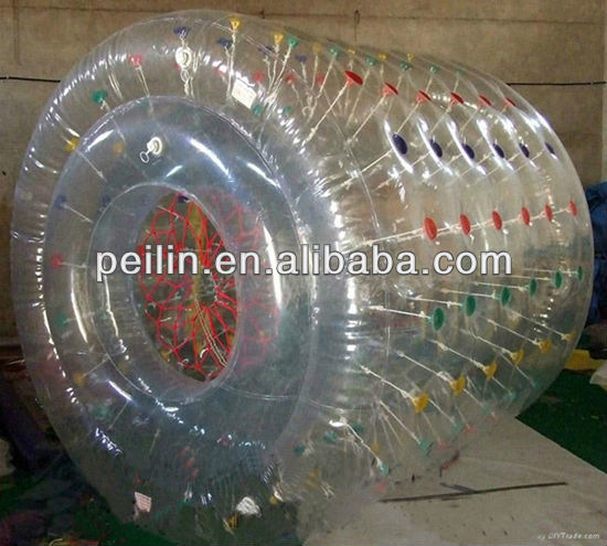 popular inflatable pvc rolling ball for kids