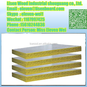 Waterproof Aluminium Foil Faced Plywood /Decorative Aluminum Coated Plywood