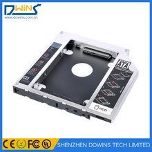 12.7 mm hard drive caddy hdd case sata to sata 2.5 inch hard disk enclosure 2nd hdd caddy