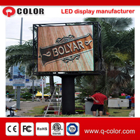 P10 Full Color Outdoor Led Display Screen/Advertising Display From Shenzhen Manufacturer