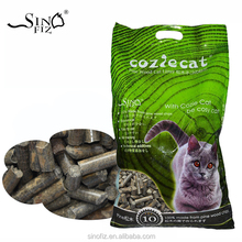 10L 5.5KG Odor Control Powdering Super Absorbed No Odor Pine Wood Activated Carbon Cat Litter Wood Pellet Bedding Pet Furniture