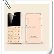 New arrival quad band thin bank card samll size mobile phone Q5