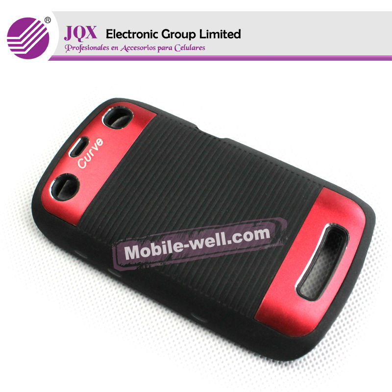 8520 back cover for Blackberry Curve 8520 case