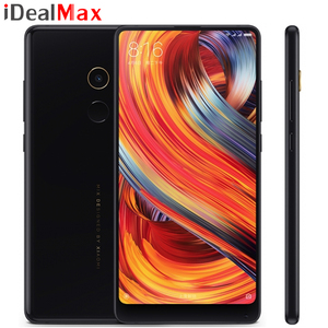 "Global Version Xiaomi Mi Mix 2 Smart Phone 6GB 64GB Snapdragon 835 Octa Core 5.99"" 2160*1080 Full Screen Display Ceramics Body"