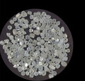 Rough HPHT White Synthetic Diamond