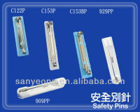 Adhesive pin /safety pin/ plastic bar pin