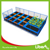 GS Approved Small Jumping Size In Ground Square Folding Trampoline