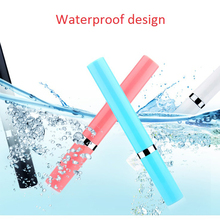 Portable Pocket-sized Healthy Electric Sonic Vibration Toothbrush Deep Clean Teeth Oral Hygiene with 2 Replaceable head