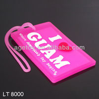 Custom Plastic Luggage Tags