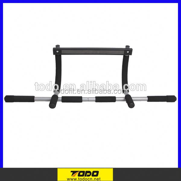 Wholesale iron material in door pull up bar for indoor fitness