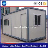 Mobile Home Cabin expandable container house for China hot sale