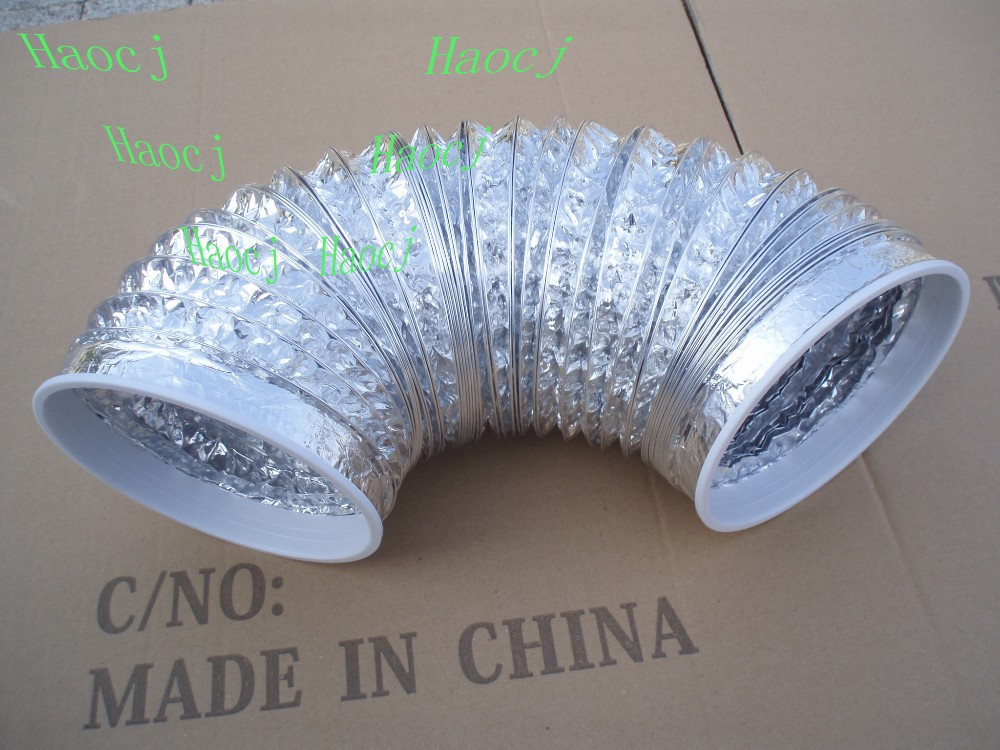 Air conditioning flexible hose/polymer drain pipes/plastic flexible waste pipe