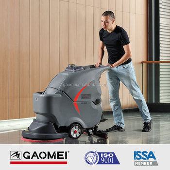 GM56BT Most Popular 24V Dual-Motor Auto Floor Scrubber 500-2000SQ.M