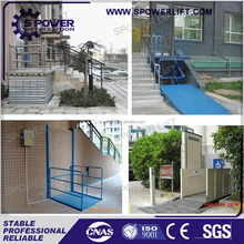 Safety Stable 3M 250kgs Outdoor Wheelchair Lift For Disabled People Price