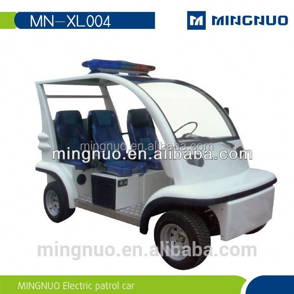 2015 New luxury design famous electric patrol car for Communities streets