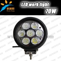 Hot Sale 70w Led Work Lamp For Universal Cars 5600lm Ultra Bright Led Work Lamp 10-30v