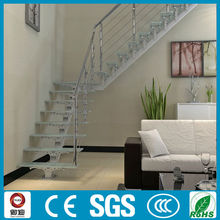 YUDI Modern and fashion steel folding L shape stairs Design