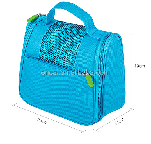 Encai New Design Womens Hanging Travel Toiletry Bag With Compartments