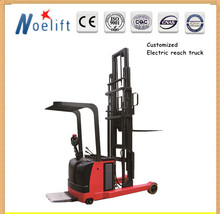 lifter machine 1-2tons 1.6-5.5m lifting height electric reach truck for sale