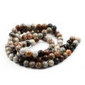 High Quality Picasso Beads Stone Bracelet For Natural Stone Bead Bracelet Wristband